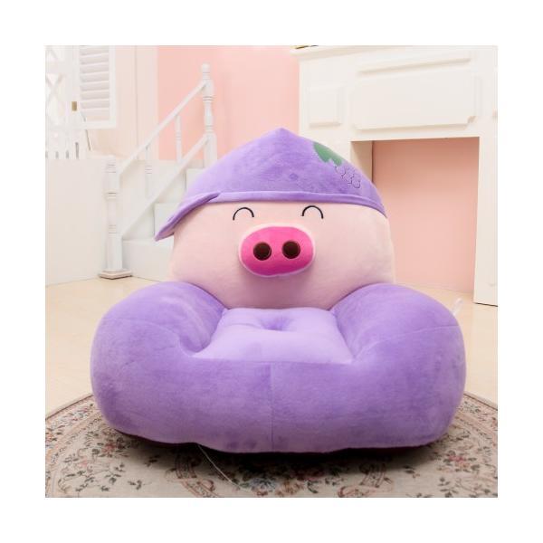 Ghế ngồi thú bông cho bé Chú lợn Peppa