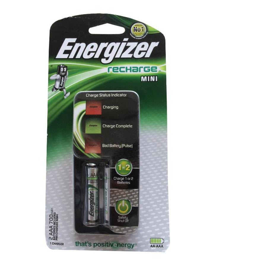Máy Sạc Pin Energizer CH2PC4 + 2 Pin Sạc AAA