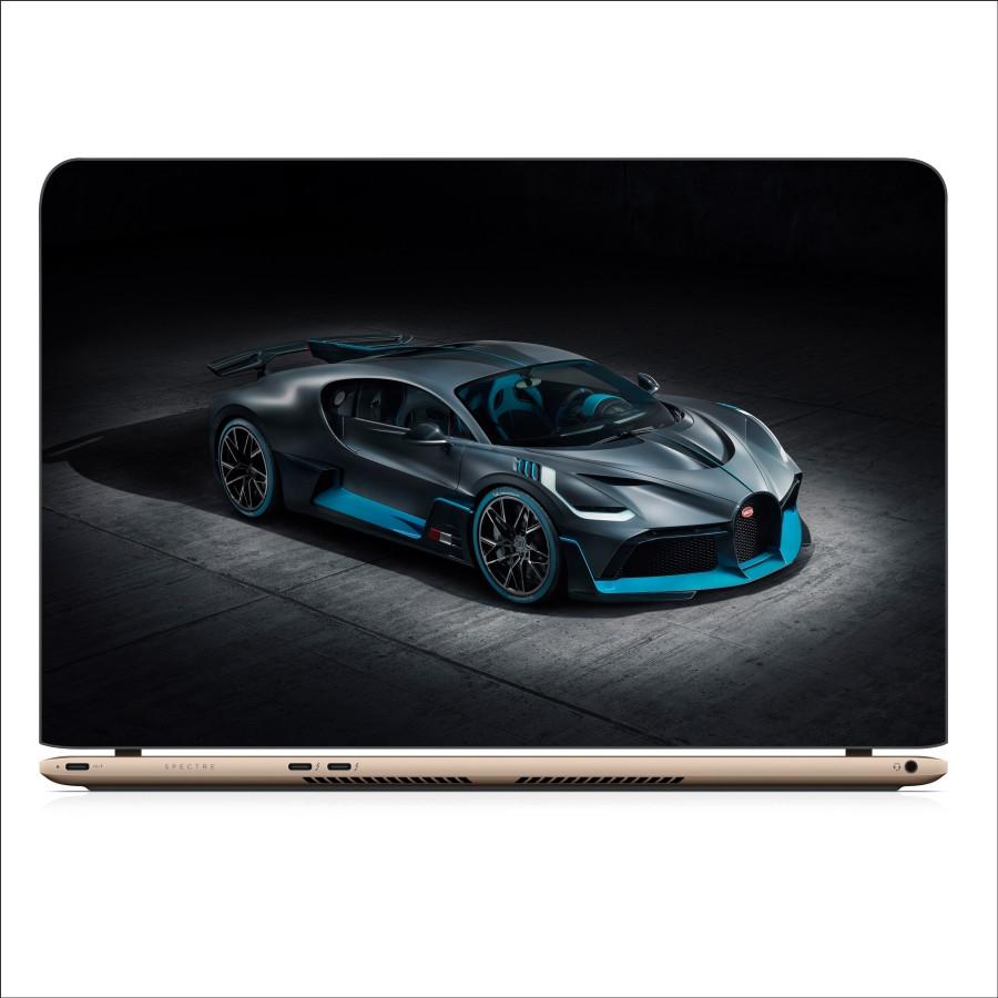 Miếng Dán Skin In Decal Dành Cho Laptop - Siêu xe Bugati 1
