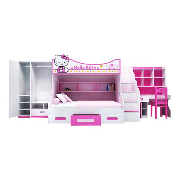Bộ Phòng Ngủ Hình Hello Kitty IBIE CFKITM