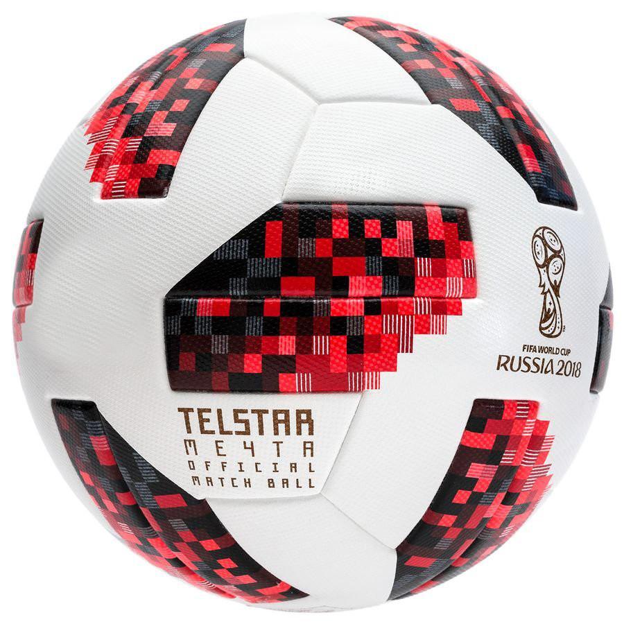 Quả bóng đá WC 2018 TELSTAR cao cấp Size 4 + Tặng kèm kim bơm và túi lưới