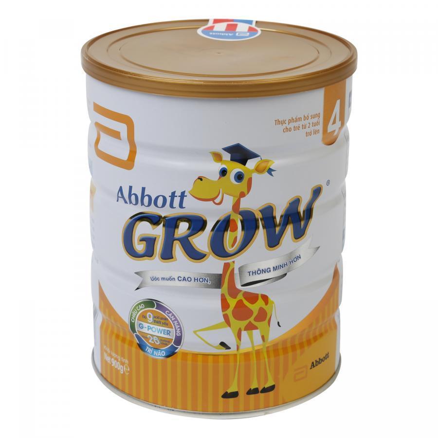 Mua Sữa Bột Abbott Grow 4 DHA AW4M Dành Cho Trẻ 2 Tuổi Trở Lên (900g)