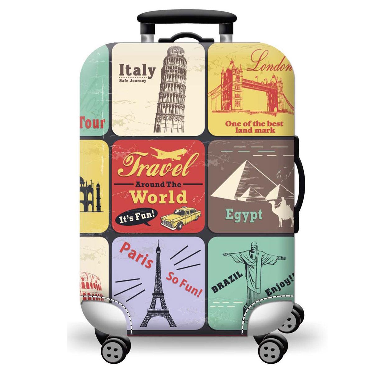 Túi bọc bảo vệ vali -Áo vỏ bọc vali - Around-Vuông