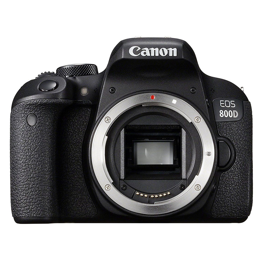 Máy Ảnh Canon 800D body (Hàng chính hãng) - Tặng thẻ 16GB + túi máy + tấm dán LCD