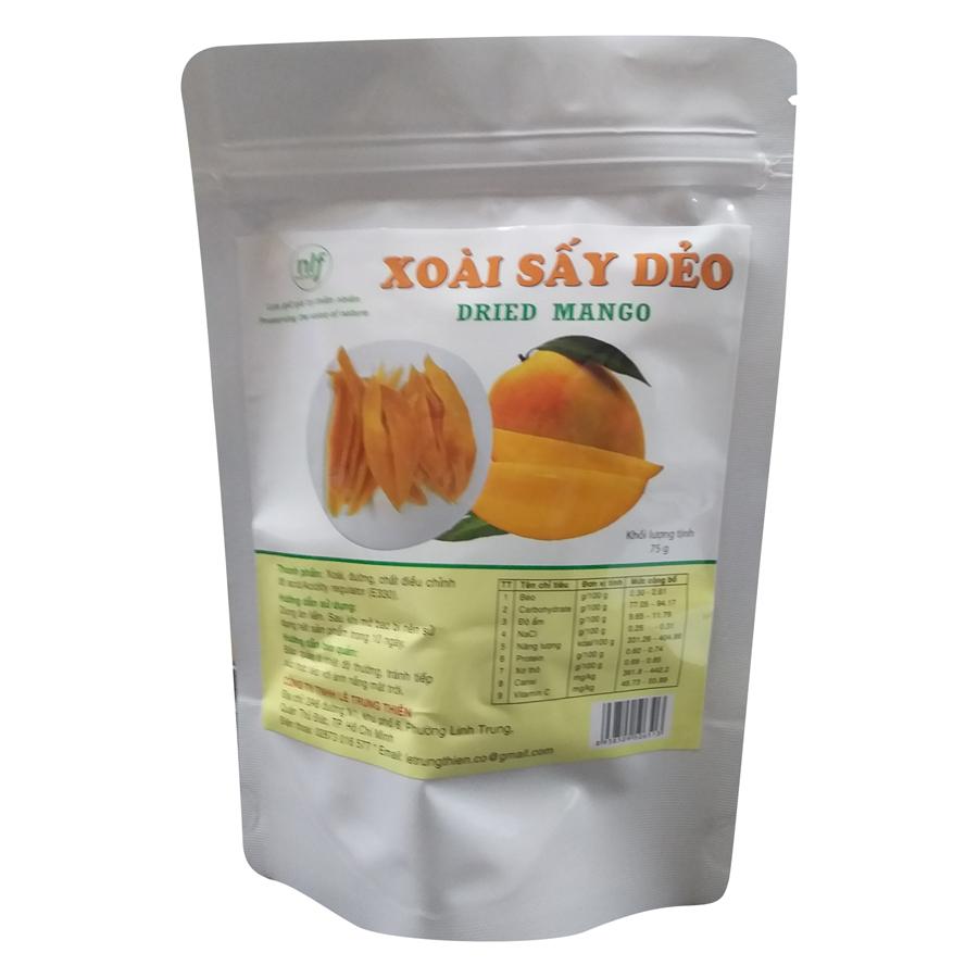 Xoài Sấy Sấy Dẻo Nong Lam Food XDN75 (75g)