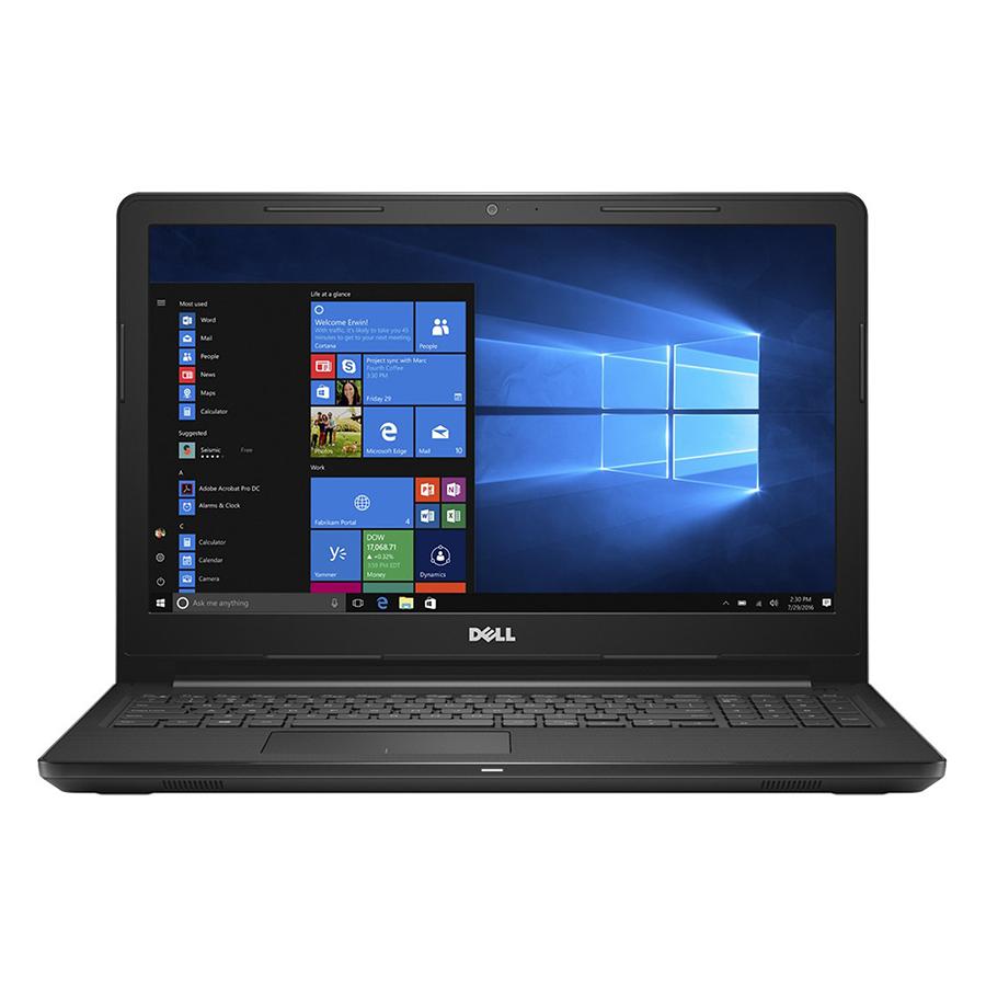 Laptop Dell Inspiron 3576 N3576F Core i5-8250U/Win10 (15.6 inch) (Black) - Hàng Chính Hãng