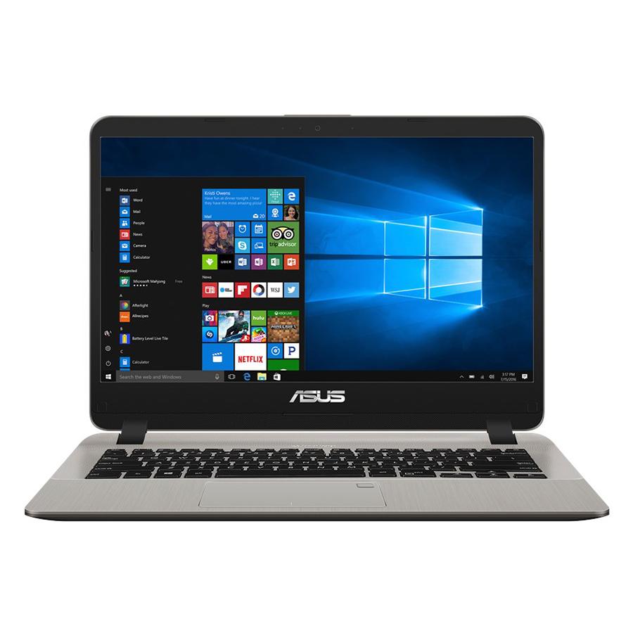 Laptop Asus Vivobook X407UB-BV147T Core i7-8550U/Win10 (14 inch) (Gold) - Hàng Chính Hãng