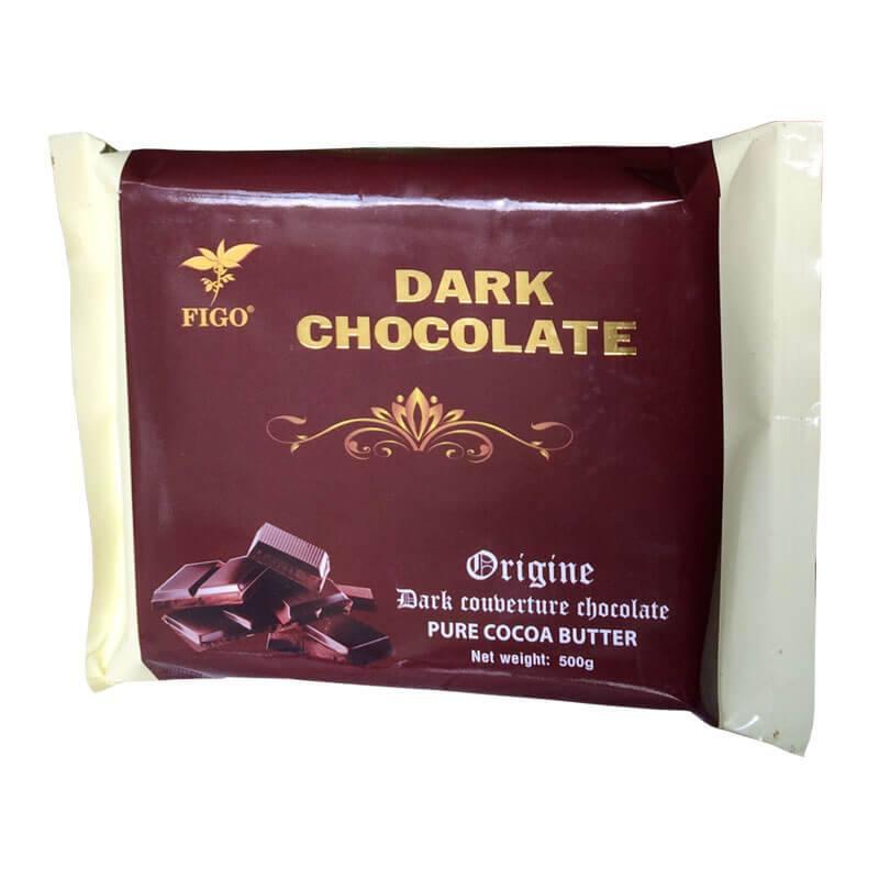 Socola đen làm bánh 65% cacao Figo 1kg