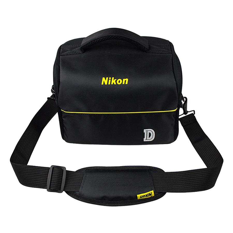 Túi Máy Ảnh Nikon (Đen) - Hàng Nhập Khẩu