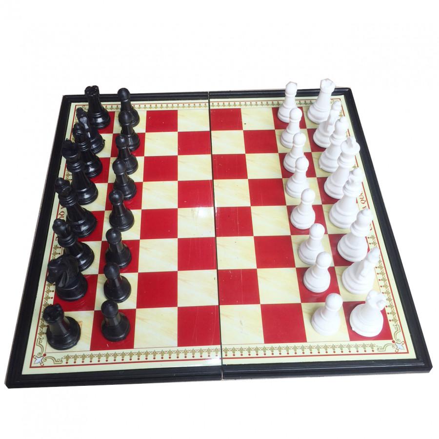 Bộ cờ vua nam châm 25cm x 25cm hộp đỏ