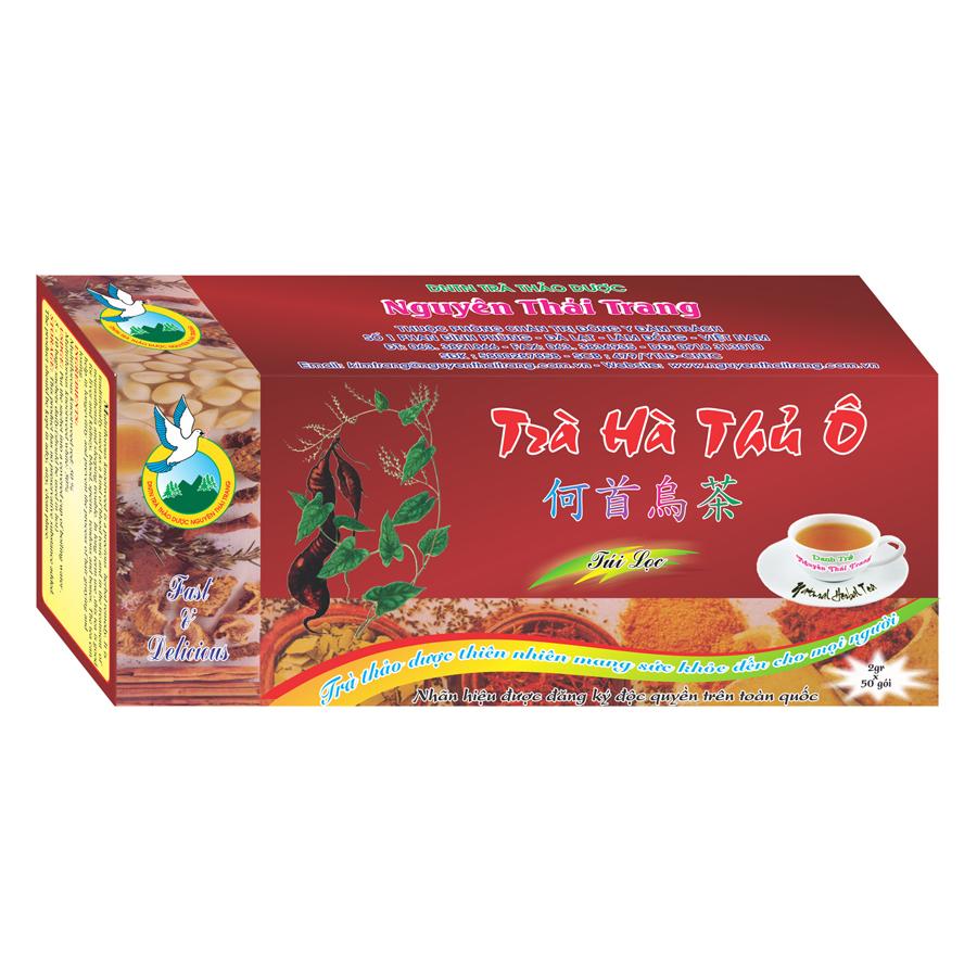 Trà Hà Thủ Ô Cho Người Bạc Tóc Nguyên Thái Trang (2g x 50 Gói)