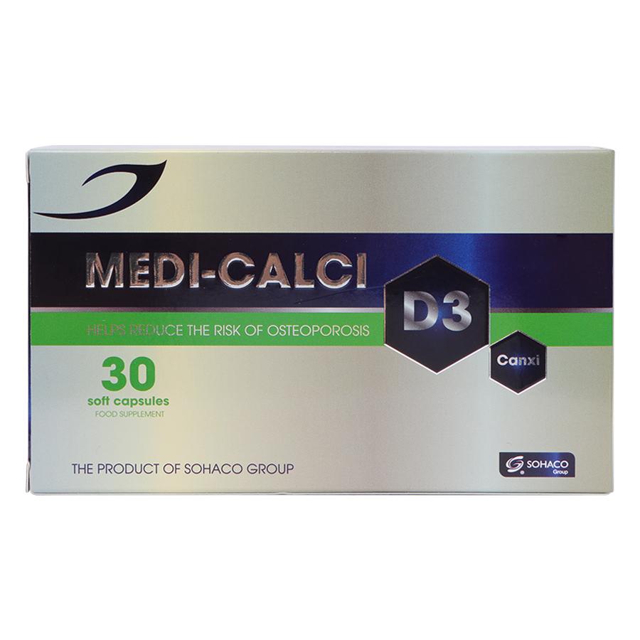Thực Phẩm Chức Năng MediCalci D3 (30 Viên)