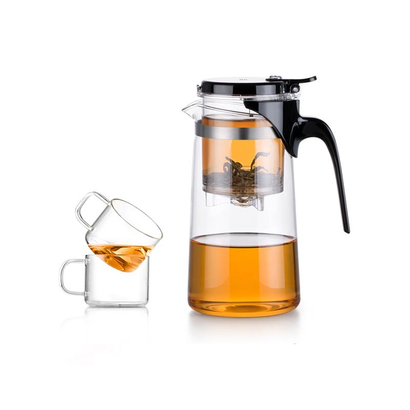 Bộ bình lọc trà thủy tinh Samadoyo NA009 750ml