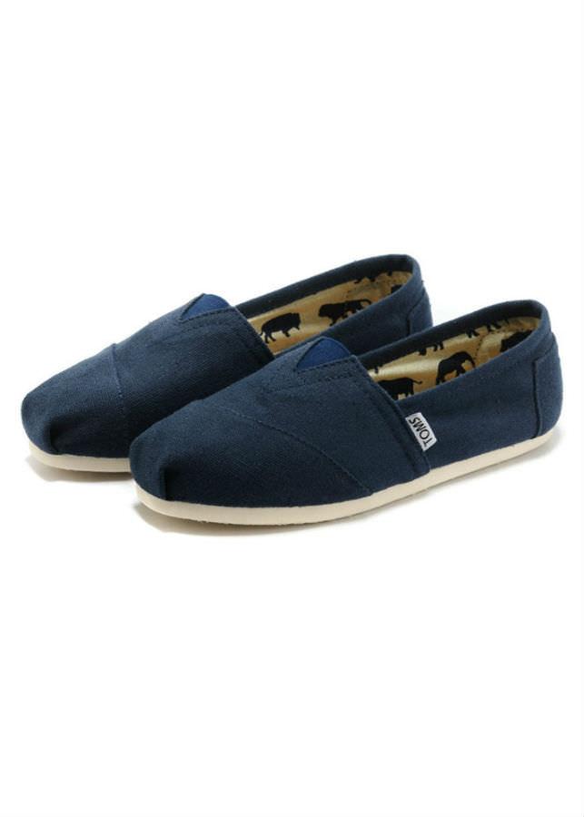 Giày Vải Nữ TS10 35 - Xanh Đen (Size 35)