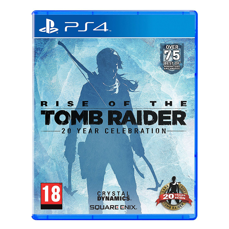Đĩa Game PlayStation PS4 Sony Rise Of The Tomb Raider Hệ US
