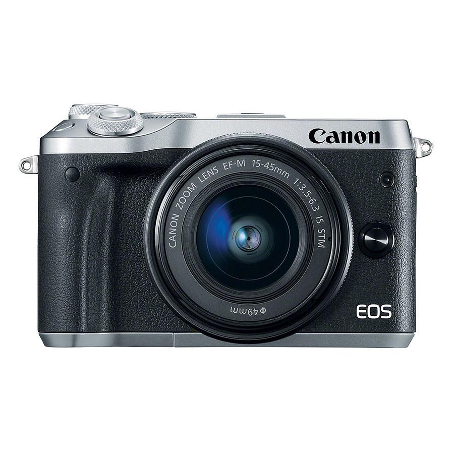 Máy Ảnh Canon M6 Kit 15-45mm IS STM (Hàng Chính Hãng) - Tặng Thẻ 16GB + Túi Máy + Tấm Dán LCD