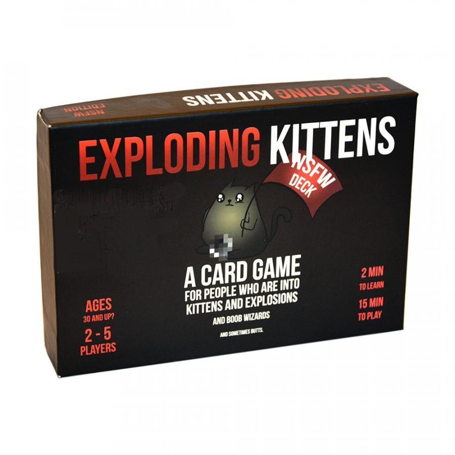 Mèo Nổ Exploding Kittens - Phiên Bản Mèo Nổ Cảm Tử (Mèo Nổ Đen)