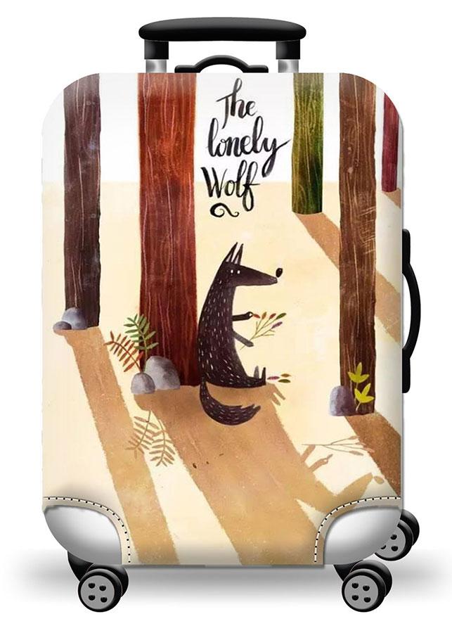 Túi bọc bảo vệ vali -Áo vỏ bọc vali - Wolf ZooYoo