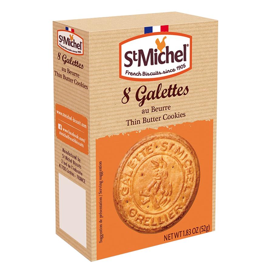 Bánh Quy Bơ Truyền Thống St Michel Galettes (52g)