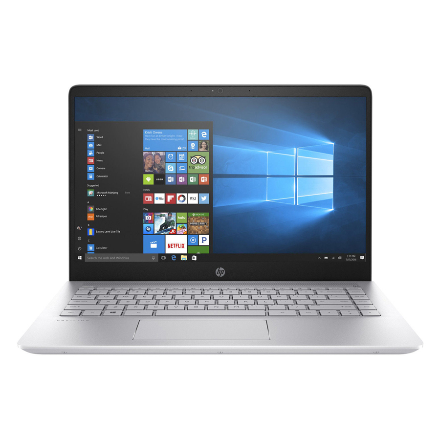 Laptop HP Pavilion 14-BF102TU 3CR59PA Core i5-8250U/Free Dos (14 inch) - Silver - Hàng Chính Hãng