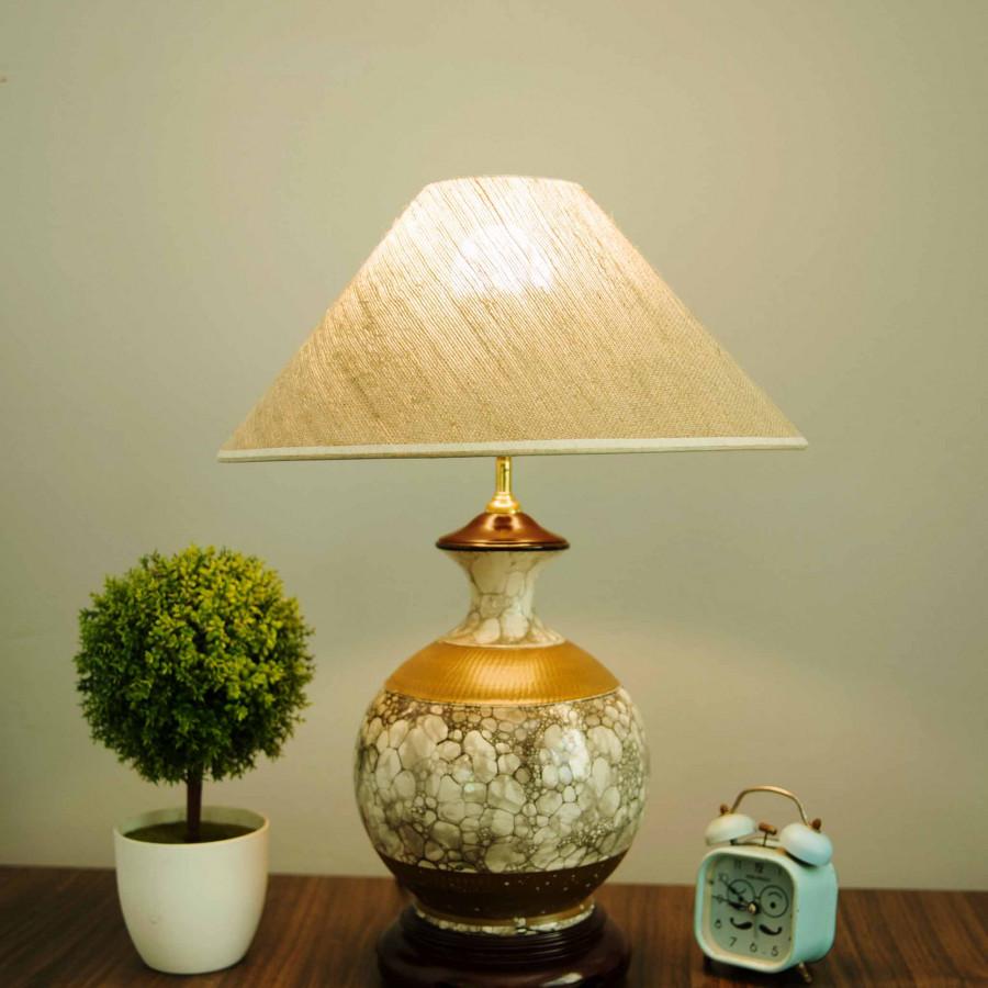Đèn Ngủ | Đèn Bàn Gốm sứ Cao cấp DG028