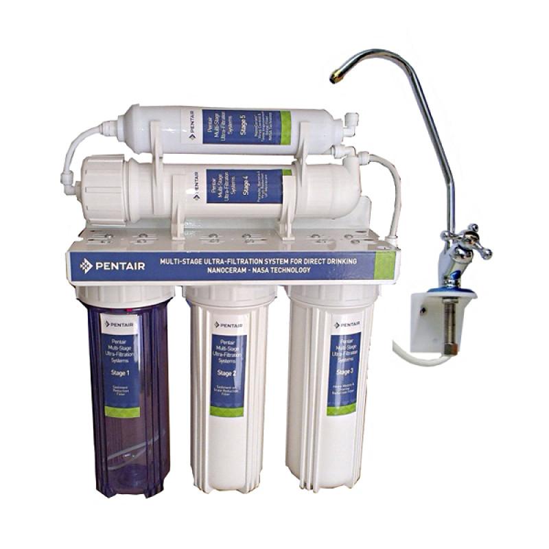 Máy lọc nước Pentair UF xử lý nước đục