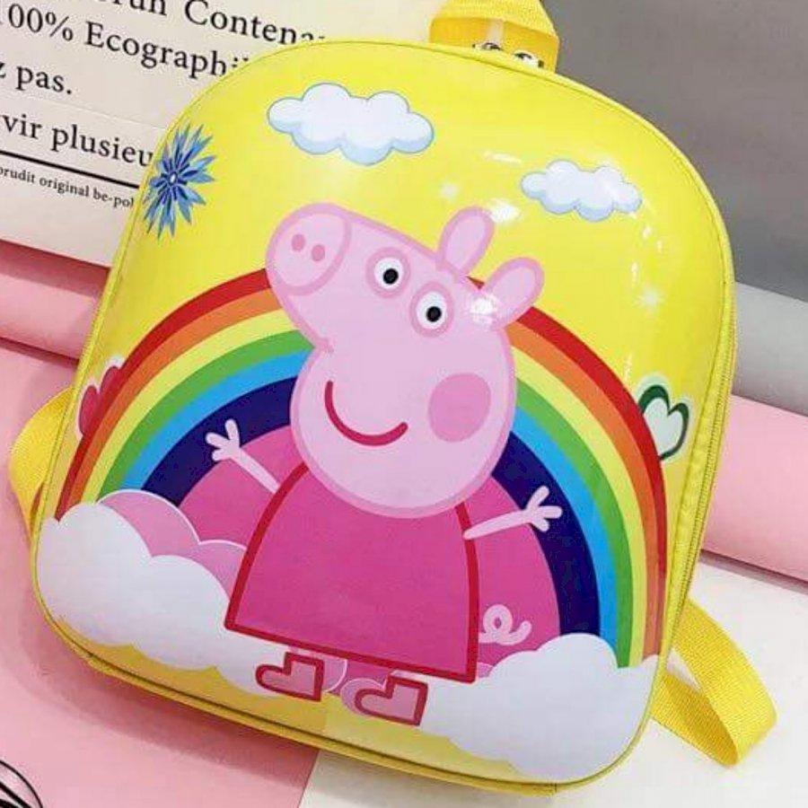 Balo hộp in hình dễ thương cho bé mẫu giáo