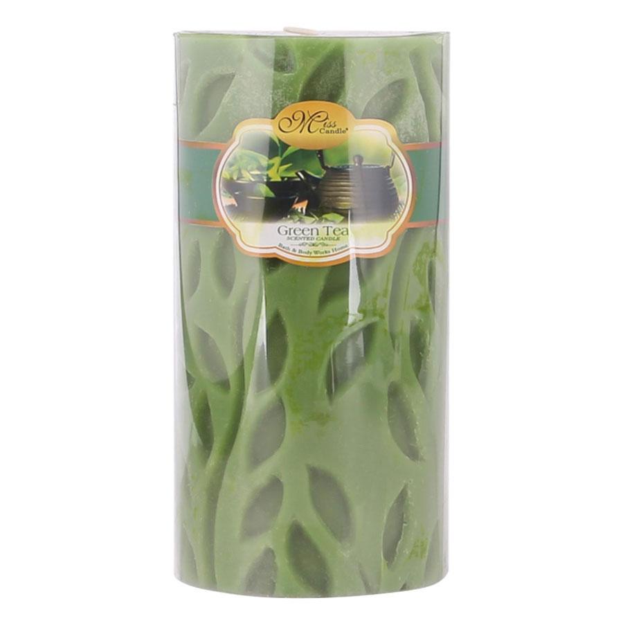 Nến Thơm Decor Chiếc Lá Hương Dâu Tây Strawberry Miss Candle Ftramart D7H15 (7 x 15 cm)