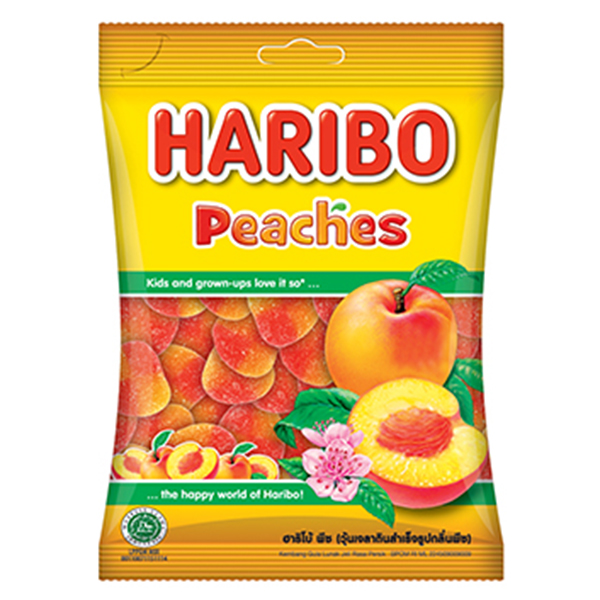 Kẹo Dẻo Haribo Peaches (80g)