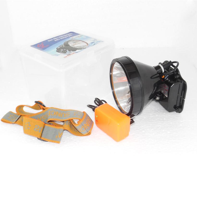 Đèn sạc pin đội đầu chống nước siêu sáng 698 100W (ánh sáng trắng)