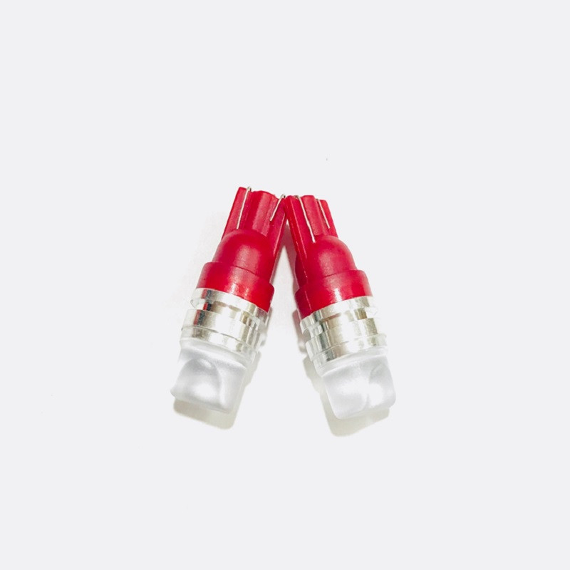 Bộ đèn led xi nhan T10 chân ghim dành cho xe máy (màu đỏ)