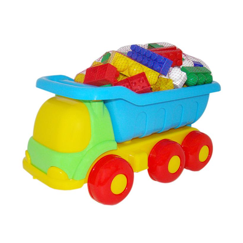 Xe tải đồ chơi kèm bộ lắp ghép – Polesie Toys