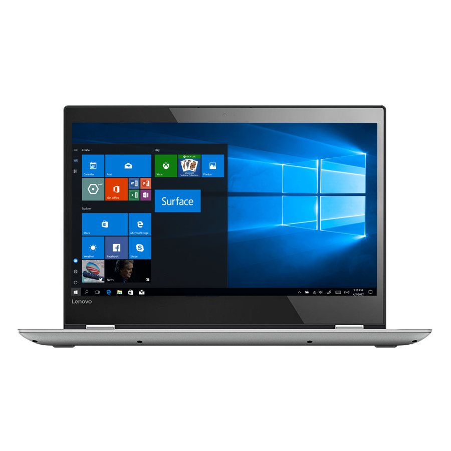 Laptop Lenovo IdeaPad Yoga 520-14IKB 80X80109VN Core i5-7200U/Win10 (14 inch) - Hàng Chính Hãng (Grey)
