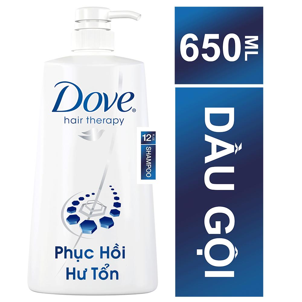 Dầu Gội Dove Phục Hồi Hư Tổn (650g) - 21123423