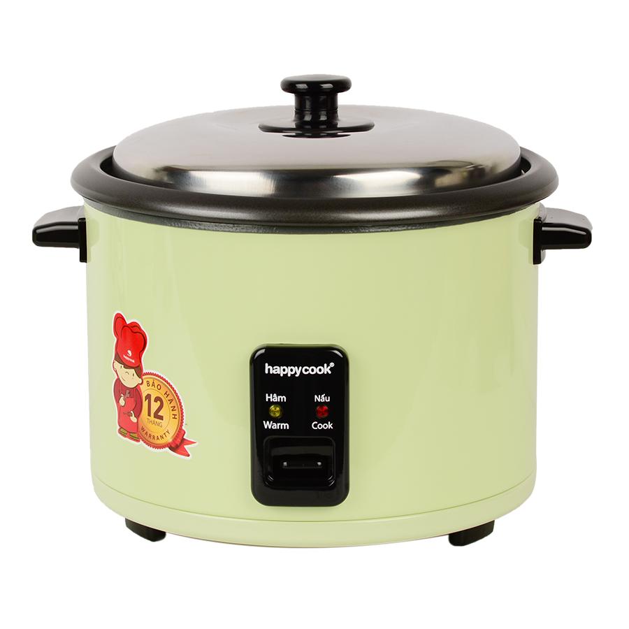 Nồi Cơm Điện Nắp Rời Cơ Happy Cook HCD-181S (1.8L)
