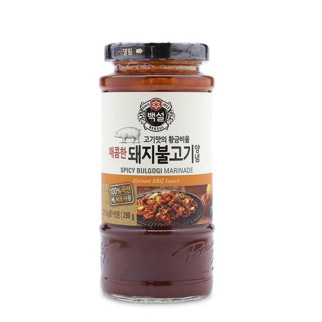Sốt Ướp BBQ Thịt Heo Bulgogi Beksul 290g