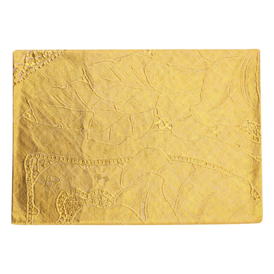 Khăn Trải Bàn PAULEE - FY 065K (180 x 135 cm) - Vàng