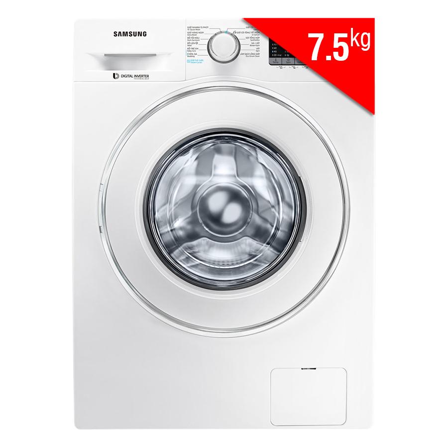 Máy Giặt Cửa Trước Inverter Samsung WW75J42G0IW/SV (7.5kg)