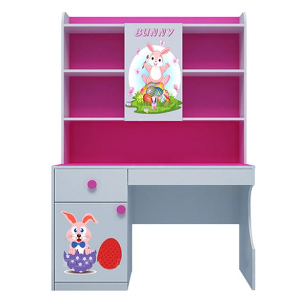 Bàn Học Có Giá Sách Hình Bunny IBIE CTBUNM12 (1m2)