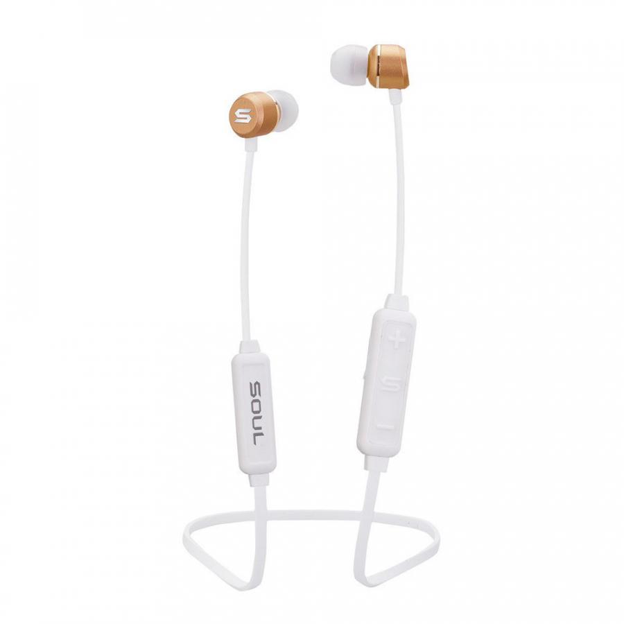 Tai Nghe Bluetooth Nhét Tai SOUL Prime Wireless (Trắng) - Hàng Chính Hãng