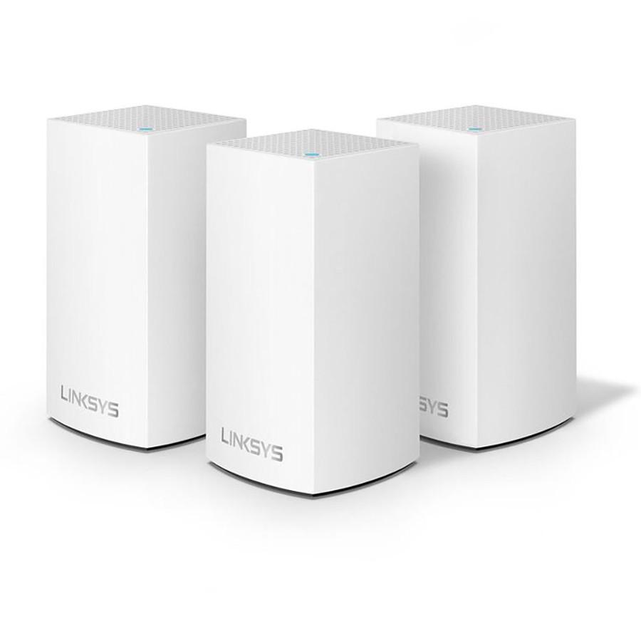 Linksys Velop Intelligent Mesh WiFi System AC3900 MU-MIMO (3-Pack) WHW0103-AH - Hàng Chính Hãng