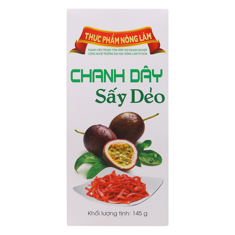 Chanh Dây Sấy Dẻo Nong Lam Food CDH145 (145g)
