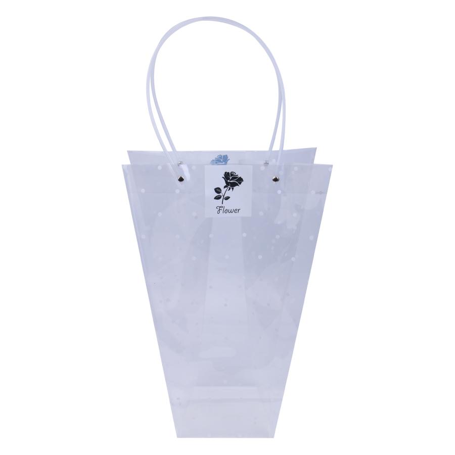 Túi Nhựa Chấm Trắng Đan Như
