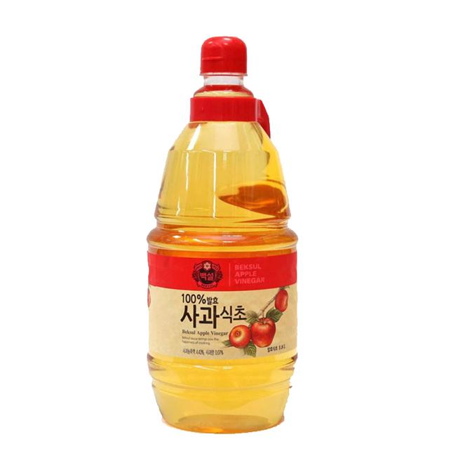 Dấm Táo Beksul Hàn Quốc Nhập Khẩu 1800ml