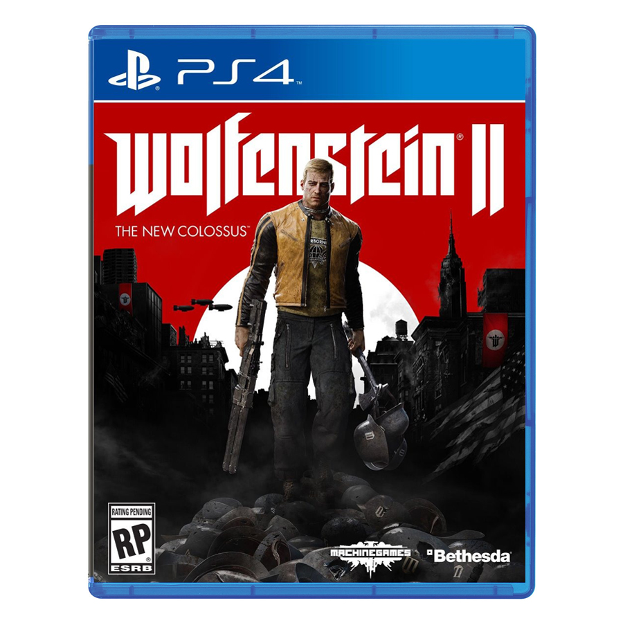 Đĩa Game PlayStation PS4 Sony Wolfenstein 2: The New Colossus Hệ US