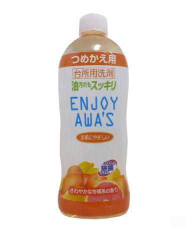 Nước rửa chén bát Enjoy Awa's đậm đặc nội địa Nhật Bản