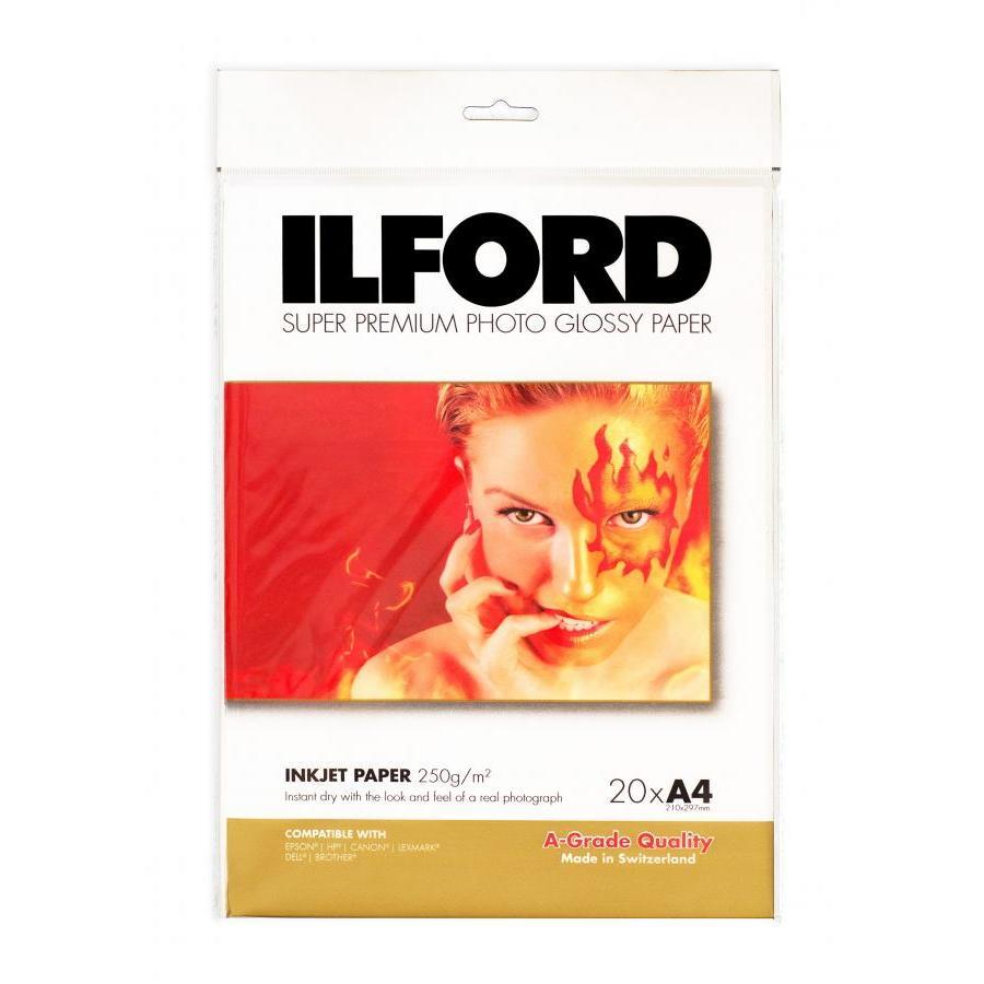 Giấy in ảnh thẻ ảnh hàn quốc khổ A4 Thương hiệu ILFORD Thụy Sĩ - Hàng nhập khẩu