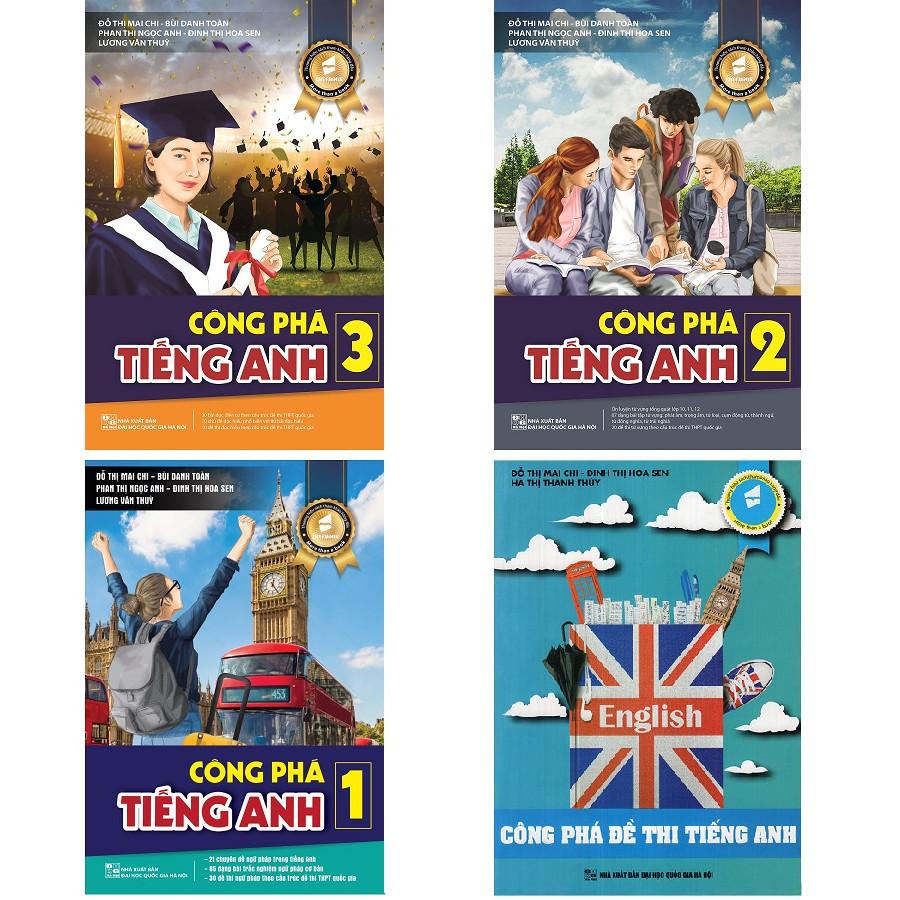 Combo Công phá kì thi THPT Quốc gia 2019-2020 môn tiếng Anh