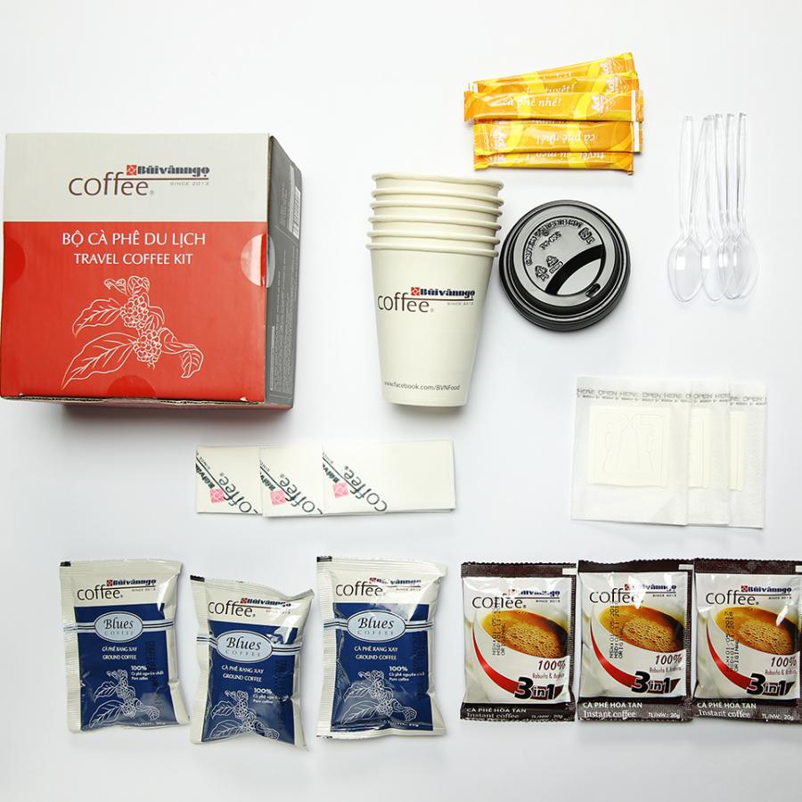Bộ cà phê du lịch - Travel Kit Bùi Văn Ngọ Coffee