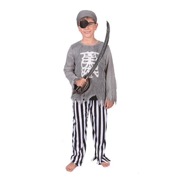 Bộ Đồ Hóa Trang Cướp Biển Halloween Nam Uncle Bills UH00770 - Xám